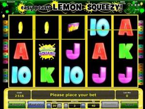 easy peasy lemony squeezy spiel