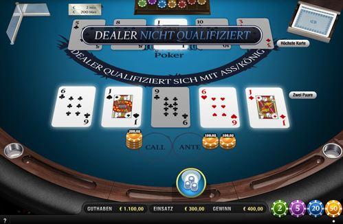 tropical stud poker regeln